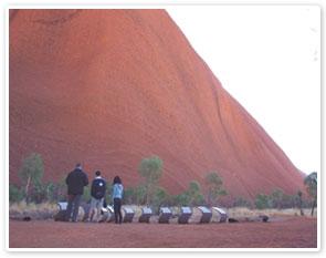 Uluru Sunrise Base & Sacred Sight
