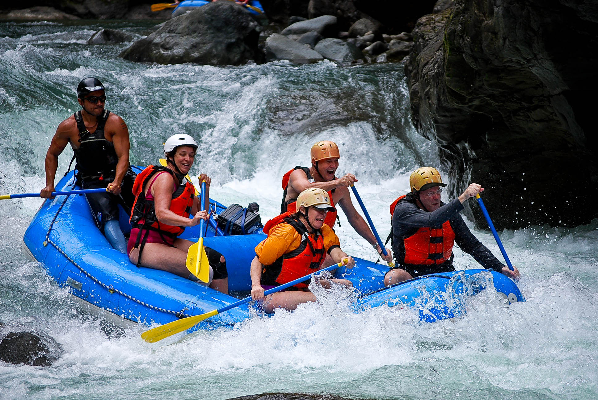 Pacuare River 1 Day Expedition (San Jose-Puerto Viejo-Arenal  Adventure Connection)