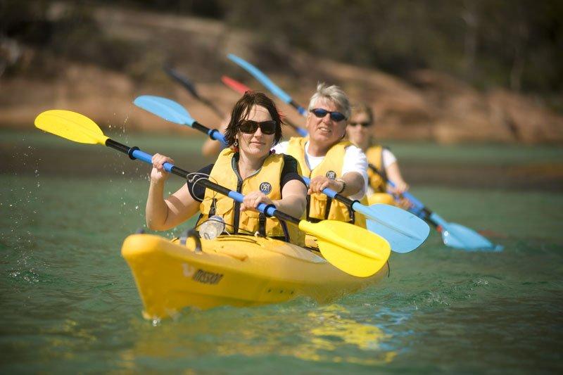 The Freycinet Paddle Tasmania Australia