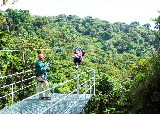 Monteverde  Sky Trek &  Sky Tram Ziplines at it best