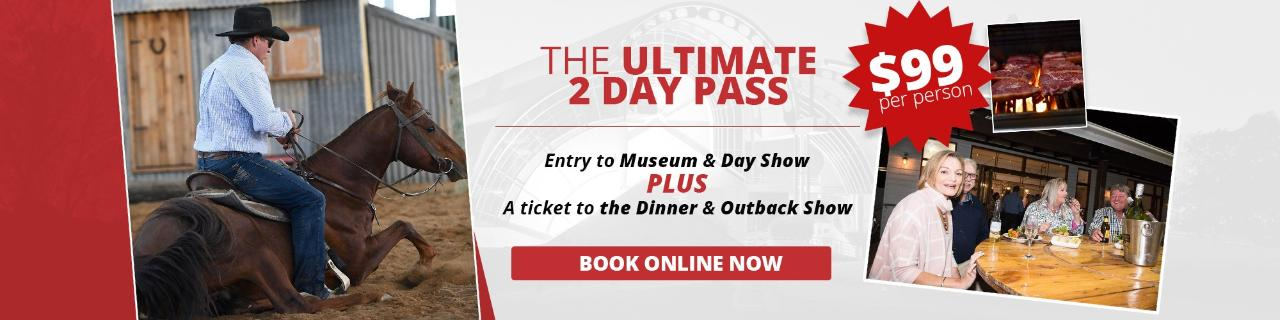 Museum, Day Show +  Dinner and Night Show Package  Save up to 40%