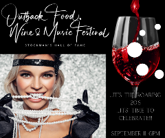 Outback Food, Wine & Music Festival 2021