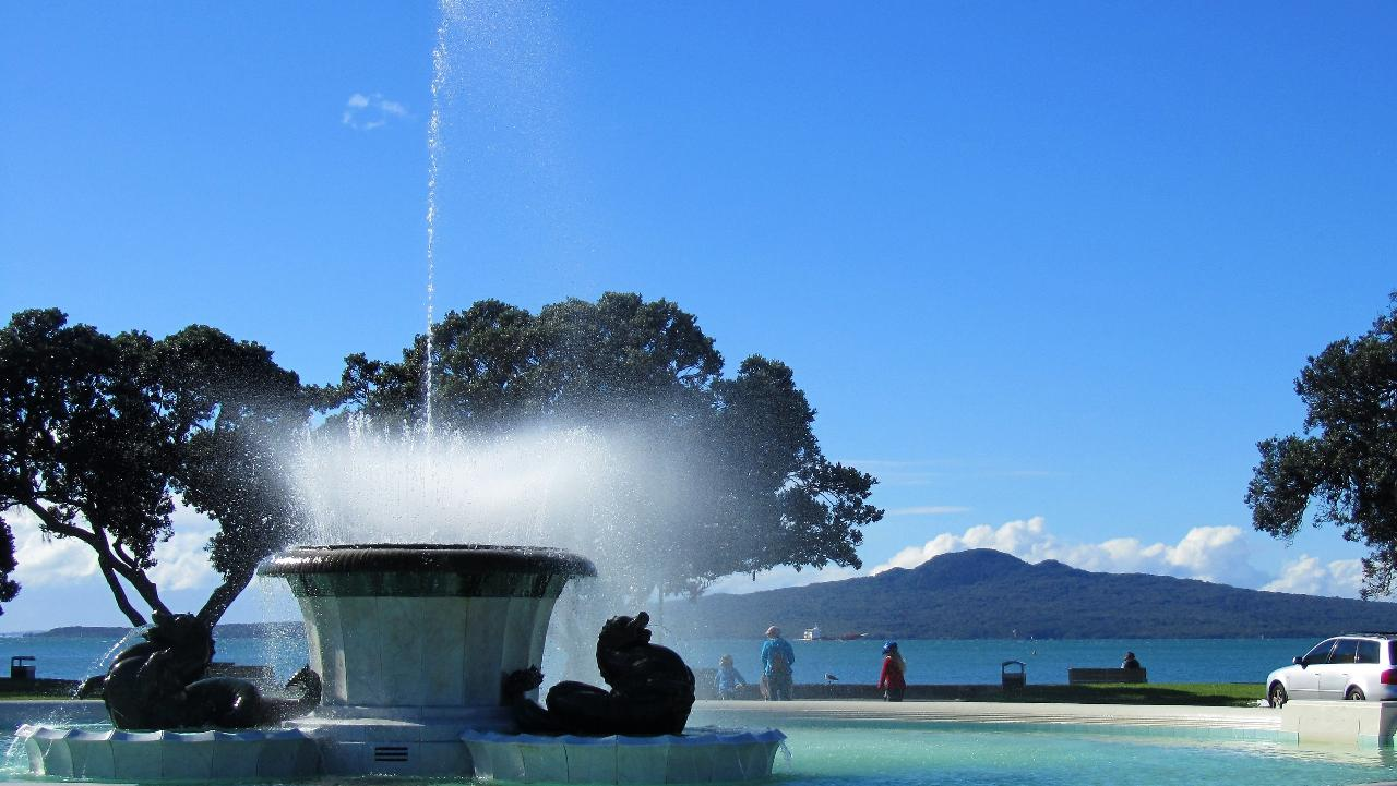 Auckland City Half Day and Devonport Tour (small group cruise excursion tours)