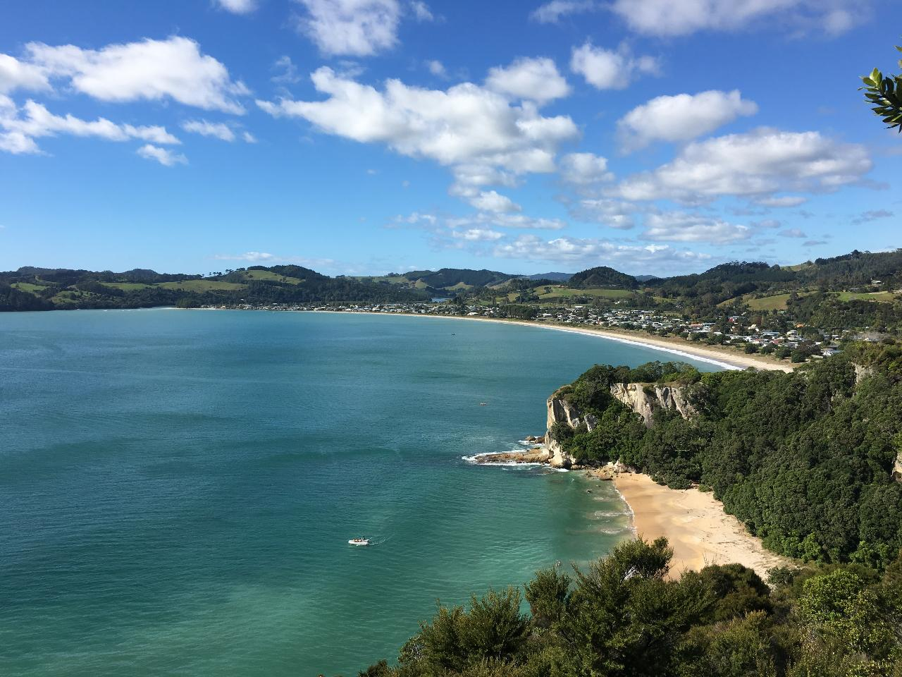 Coromandel and Cathedral Cove Land and Boat Tour