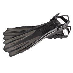 IST Sumi Open Heel Scuba Diving Fins