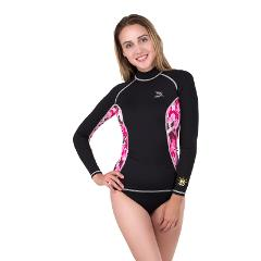 IST Women's Long Sleeve Rash Guard