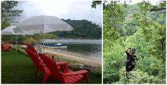 Private Island & Zip Line — COMBO