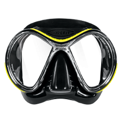 OCEANIC Oceanvu Dive Mask