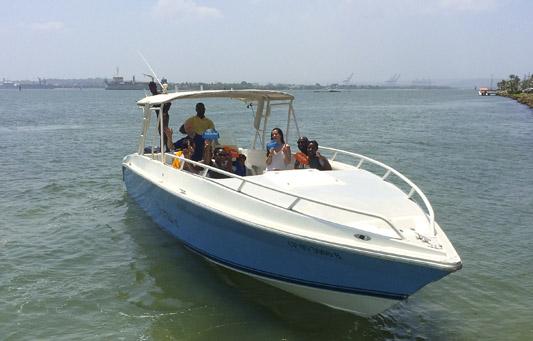 Island Hopping in Style + Speedboat 38*