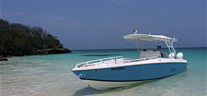 Island Hopping in Style + Speedboat 30*