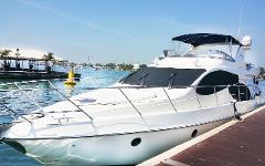 Island Hopping in Style + Azimut 55