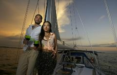 Sailing Sunset Experience + Speedboat 28 ft