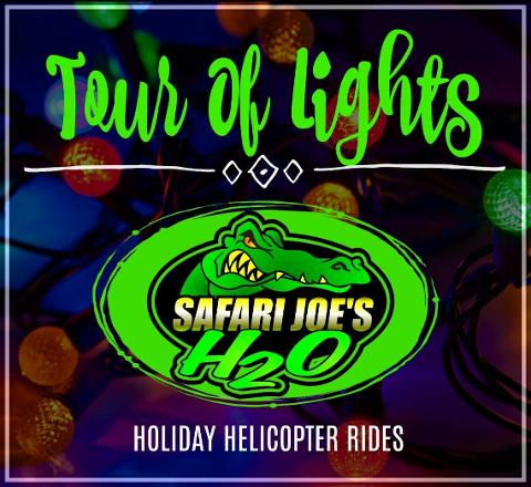 Safari Joe's H20 RHEMA & Downtown Light Tour