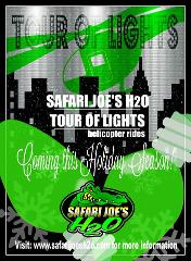 Information For: Safari Joe's H20 RHEMA Celebration Light Tour