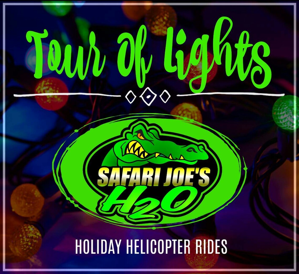 Safari Joe's H2O, Deluxe Christmas Light Tour