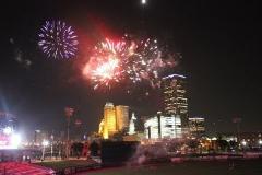 Tulsa 4th of July Fireworks flight