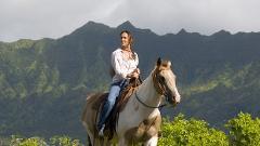 Kualoa Ranch Horseback Adventure Package with Transportation