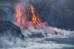 34W Hawaii Volcano Eco-Adventure & Helicopter Tour from Oahu