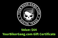 Your Biker Gang - Austin - $64 - Gift Certificate - One Bike