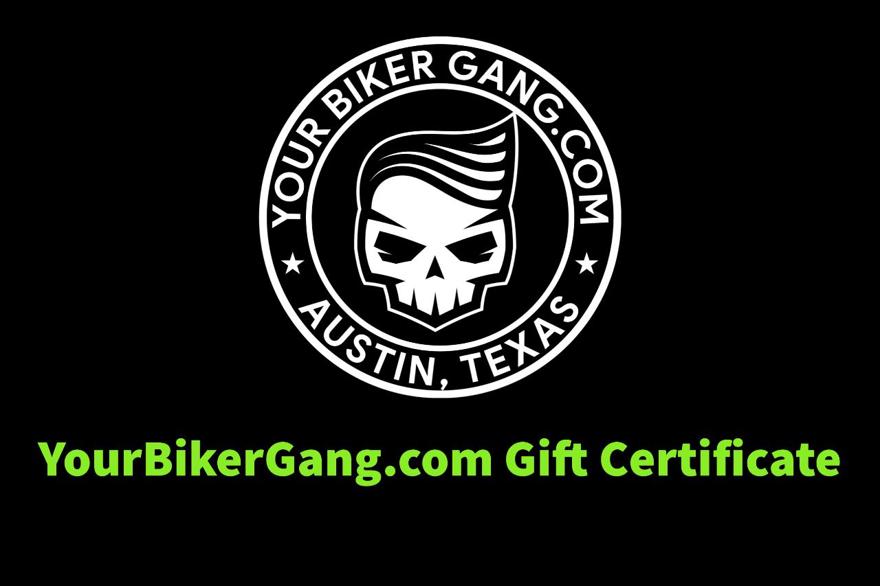 Your Biker Gang - Austin - $414 - Gift Certificate - Six Bikes