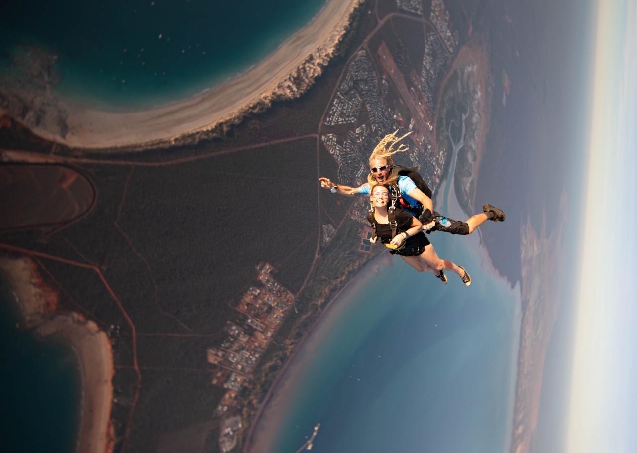 14,000ft Cable Beach Broome Tandem Skydive *Most Popular*