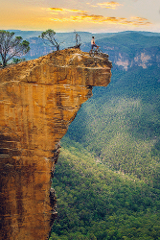 Hanging Rock Trail - Katoomba - Self Guided Tour (BEGINNER FRIENDLY)