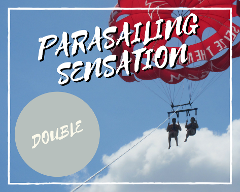PARASAILING SENSATION DOUBLE FLYER