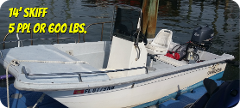 14' Runabout Skiff - 3 hours