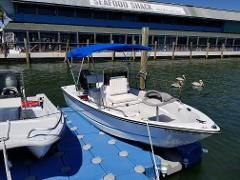 Discontinued product - 17' Center Console Hourly Rental
