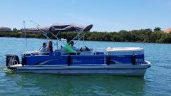 4 Hour - 24' Tahoe Pontoon w/ Bimini