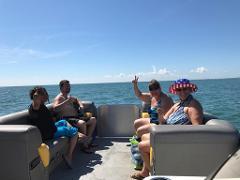 1.5 Hour Pontoon Boat Tour
