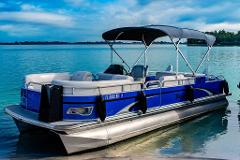 8 Hour - 24' Tahoe Pontoon w/ Bimini