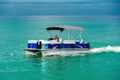 6 Hour - 24' Tahoe Pontoon w/ Bimini