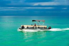 2 Hour Suntracker Pontoon Rental