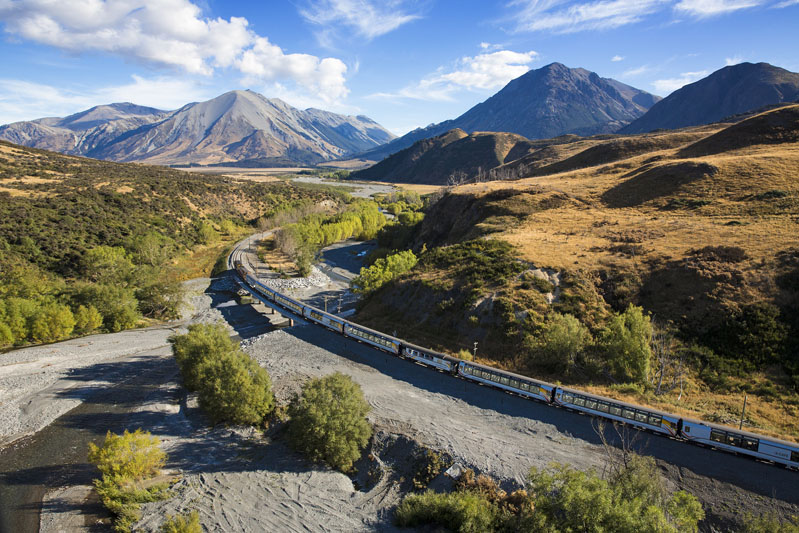 Arthurs Pass & TranzAlpine Train