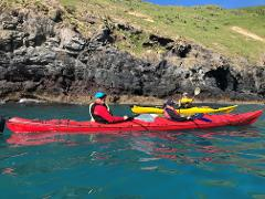 Akaroa Guided Kayak Tour