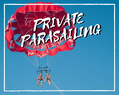 Private Parasailing Double Flyer