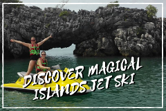 Private Discover Magical Islands Jet Ski