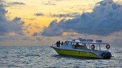 Shared Sunset Boat Ride