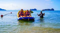 Sofa Boat at Paradise 101