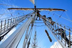 Climb the Ship Rigging - Tour Down Under Festival