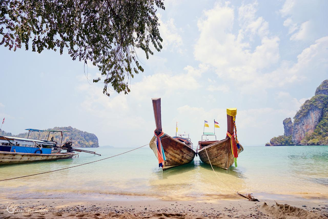 ECO Private Premium Island Hopping to Hong Islands by Longtail Boat