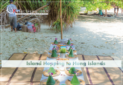 ECO Premium Island Hopping to Hong Island by Longtail Boat
