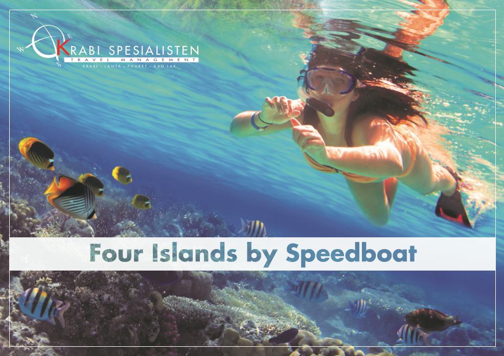 Four Islands by Speedboat