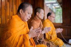 TRADITIONAL BUDDHIST THAI HOUSE WEDDING BLESSING CEREMONY - Gold Package Krabi