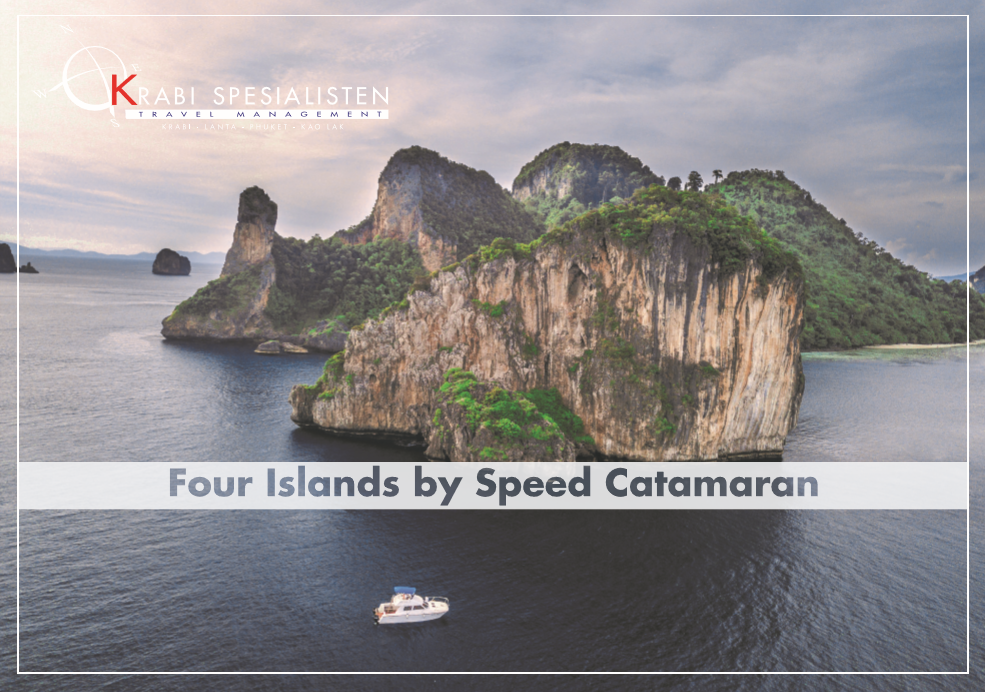 Four Islands by Speed Catamaran Half Day