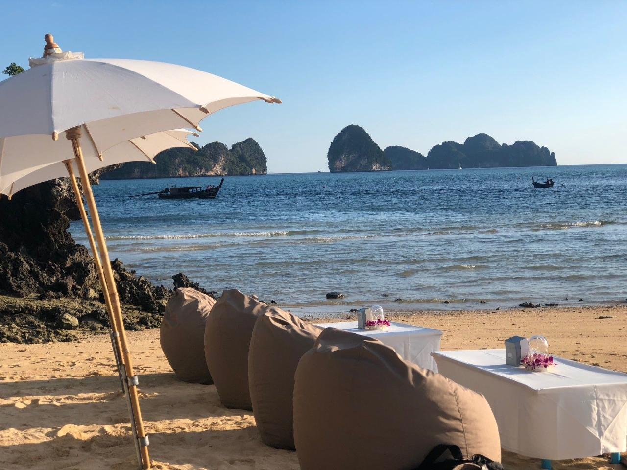 Private Special Arrangement - Local Islands with Sunset Cocktail and Dinner at Pan Beach by Speedboat