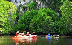Kayaking Borthor Half Day Tour
