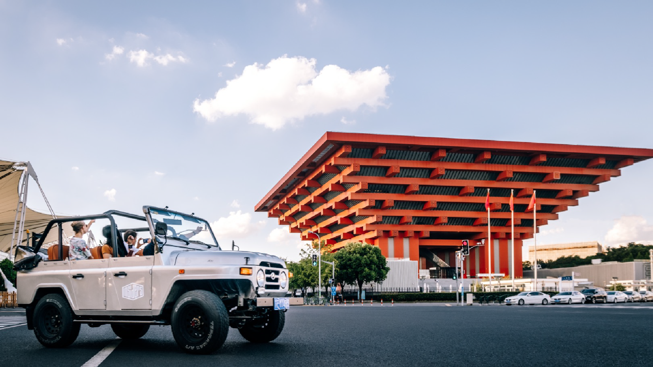 The Modern Architecture Ride - 4h (Price is per jeep)