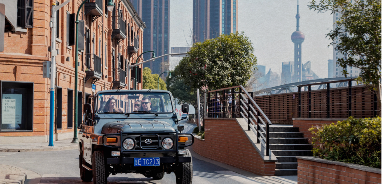The Secret Ride - 6h by convertible jeep